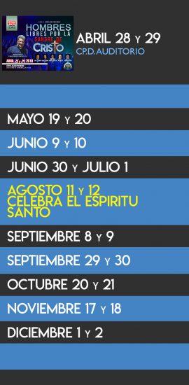 ANUNCIOS- eventos 2018-new