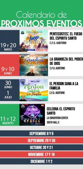 ANUNCIOS- proximos eventos-new