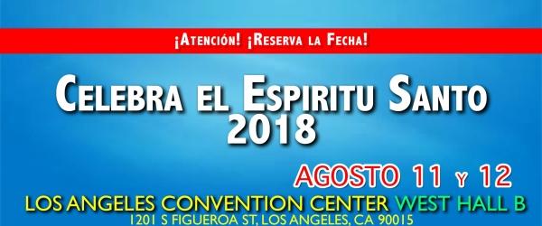 CELEBRA AL ESPIRITU SANTO 2018
