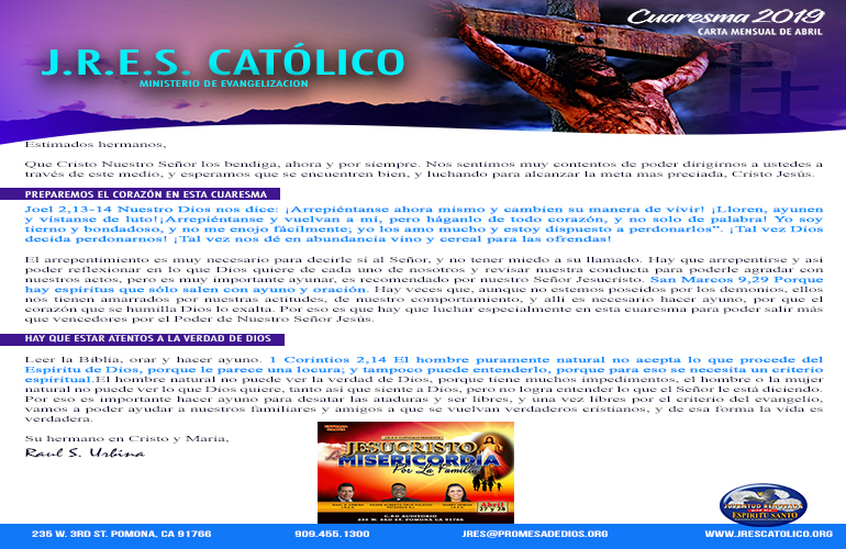 Cover Carta Mensual Abril 2019