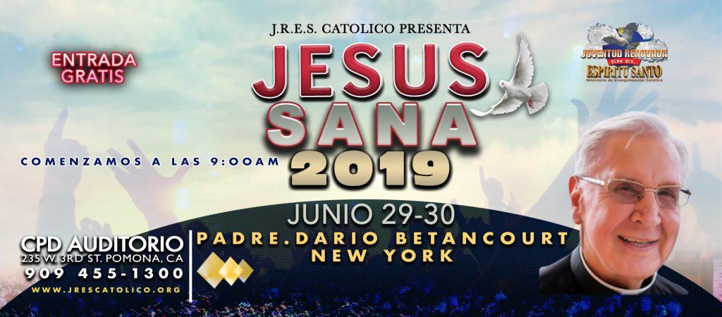 jesus sana 2019 Web banner