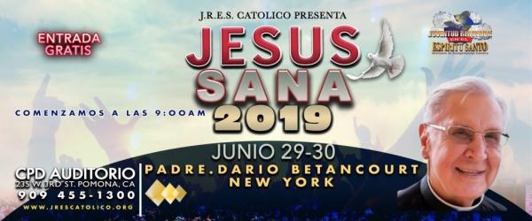 JESUS SANA 2019